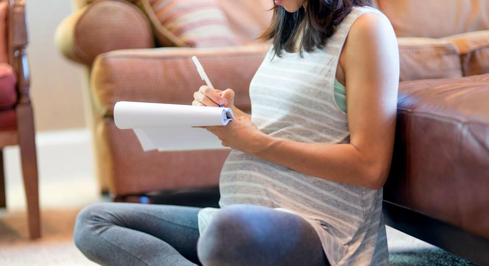 Pregnant woman reveals family think she is giving is giving baby 'dog's name' [Image: Getty]