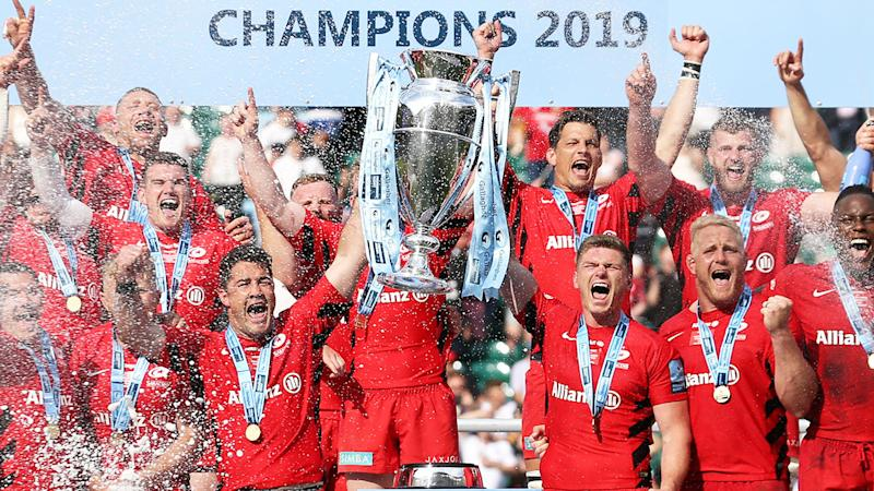 Saracens are appealing their penalty for a salary cap breach.