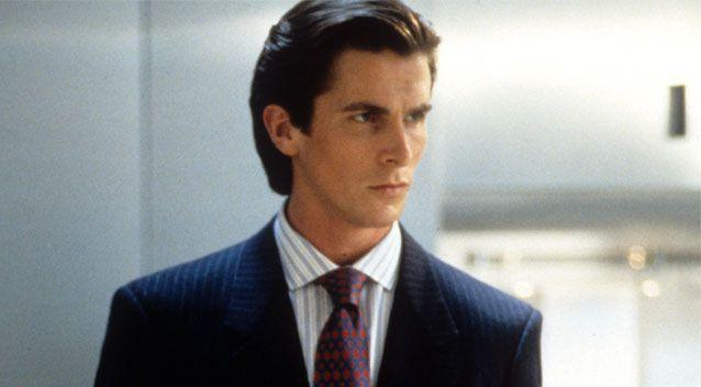 Characters such as Christian Bale's Patrick Bateman from American Psycho could actually be good for society. Source: Getty