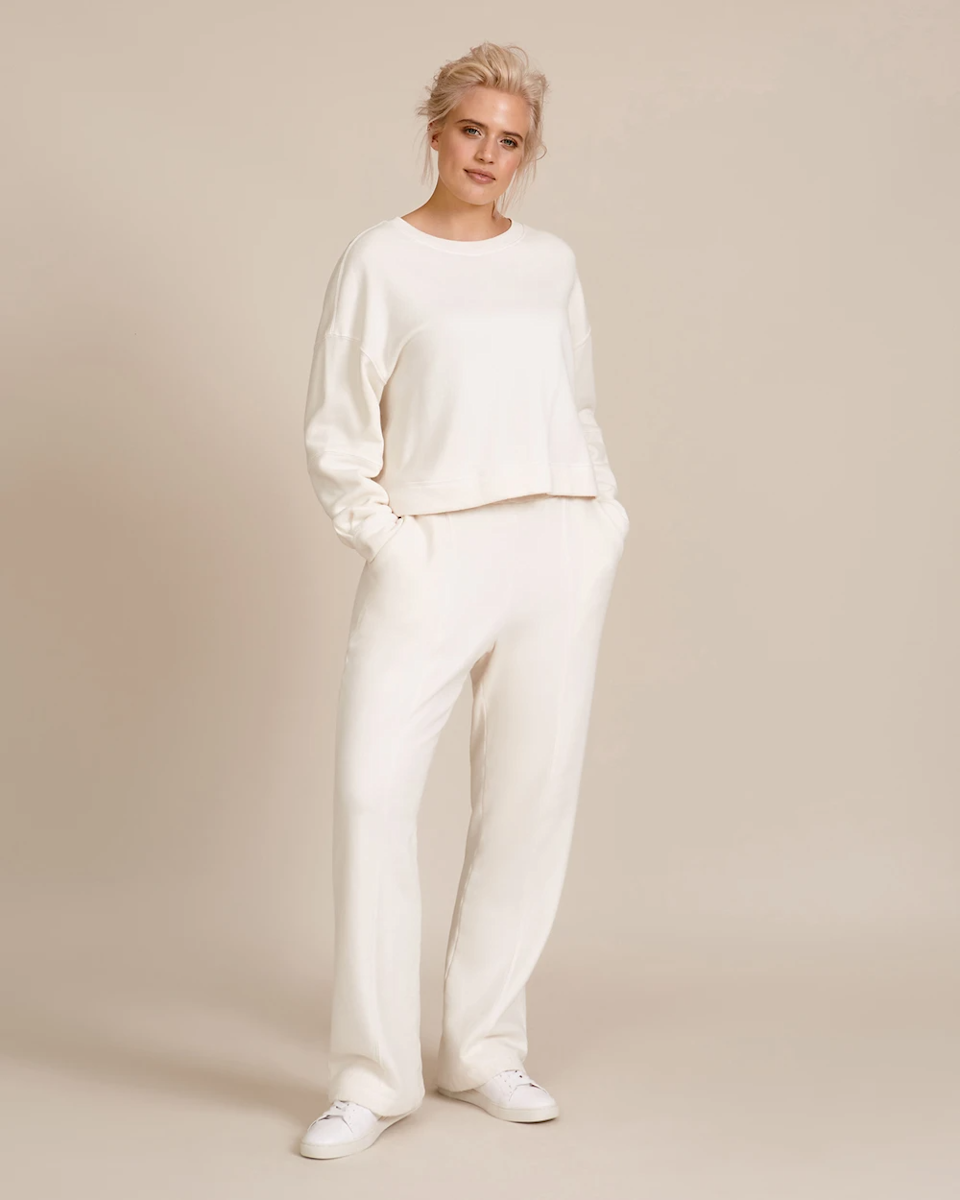 """<h2>Matching Sets</h2><br>""""This year we will continue to see multiple iterations of sets. From cozy sweat sets to chic satin sets, a two-piece look is the effortless go-to that we will live in all year.""""<br><br>-Danielle Williams Eke, 11 Honoré Design Director<br><br><br><br><strong>11 honore</strong> Gia Sweatshirt, $, available at <a href=""""https://go.skimresources.com/?id=30283X879131&url=https%3A%2F%2F11honore.com%2Fproducts%2Fgia-sweatshirt-1"""" rel=""""nofollow noopener"""" target=""""_blank"""" data-ylk=""""slk:11 Honore"""" class=""""link rapid-noclick-resp"""">11 Honore</a><br><br><strong>11 honore</strong> Lexi Sweatpant, $, available at <a href=""""https://go.skimresources.com/?id=30283X879131&url=https%3A%2F%2F11honore.com%2Fproducts%2Flexi-sweatpant"""" rel=""""nofollow noopener"""" target=""""_blank"""" data-ylk=""""slk:11 Honore"""" class=""""link rapid-noclick-resp"""">11 Honore</a>"""