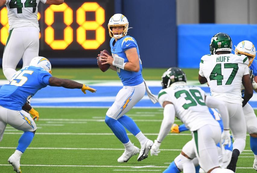 Justin Herbert Jets Chargers