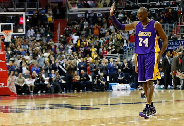 Kobe Bryant's death rocked the sports world. (Photo by Rob Carr/Getty Images)
