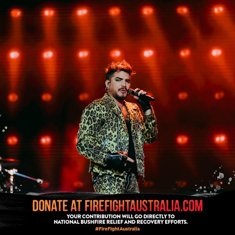 Queen recreates iconic Live Aid performance for Australian bushfires fundraiser