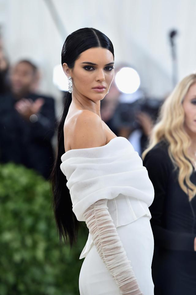 Kendall Jenner at the Met Gala. (Photo: Jason Kempin/Getty Images)