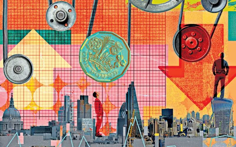 The data paints a mixed picture for investors - Sarah Jones for the Telegraph