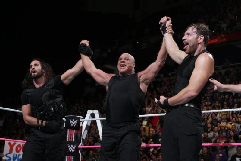 kurt angle and the shield