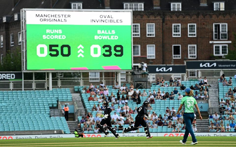 Empty seats at The Oval - GETTY IMAGES