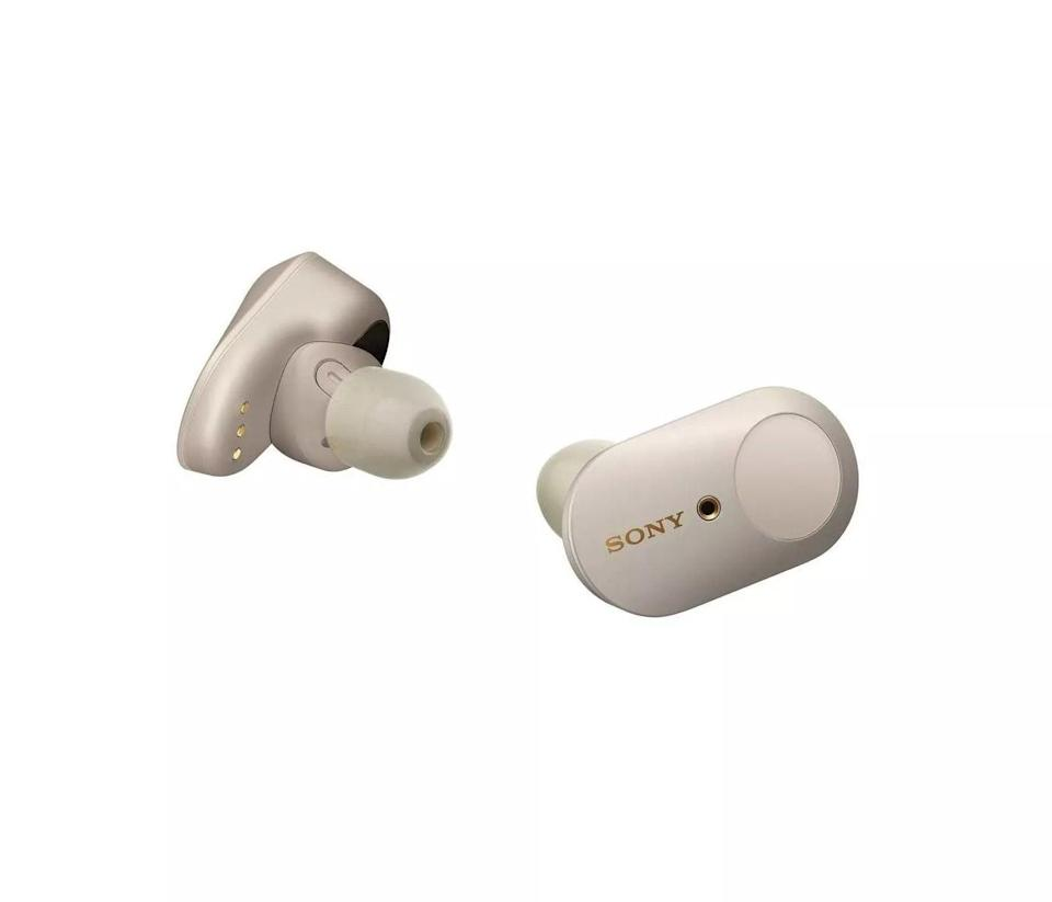 <p>With a true wireless design and active noise canceling, these <span>Sony WF1000XM3 Noise Canceling True Wireless Earbuds</span> ($200) are a must have. They have uninterrupted right and left simultaneous Bluetooth transmission and a cool feature called smart listening that automatically switches to ambient sound mode based on their activity. They can even activate their go-to smart virtual assistant with a simple touch.</p>
