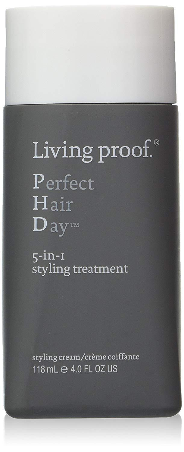 """<h3>Living Proof 5-In-1 Styling Treatment</h3><br><br>Living Proof's multipurpose styling cream is a magic potion for smoothing strands and creating a fuller, thicker appearance, according to reviewers. (Oh, and it smells like, <em>really</em> good.)<br><br><strong>Living Proof</strong> Perfect Hair Day 5 In 1 Styling Treatment, $, available at <a href=""""https://amzn.to/34w9Fpr"""" rel=""""nofollow noopener"""" target=""""_blank"""" data-ylk=""""slk:Amazon"""" class=""""link rapid-noclick-resp"""">Amazon</a>"""