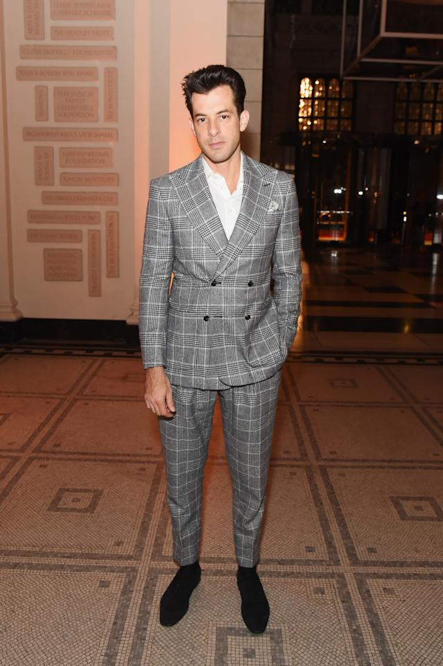 <p>WHAT: Richard James</p> <p>WHERE: Tim Walker: Wonderful Things exhibition launch at The V&A</p> <p>WHEN: September 17, 2019</p> <p>WHY: Lest you forget who really owns this whole double-breasted suit moment we're in.</p>