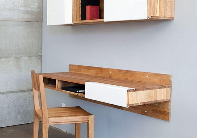 Superb 21 Space Saving Wall Mounted Desks To Buy Or Diy Interior Design Ideas Tzicisoteloinfo