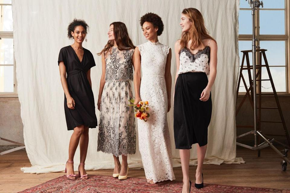 H&M launched their debut bridal collection this month [Photo: H&M]