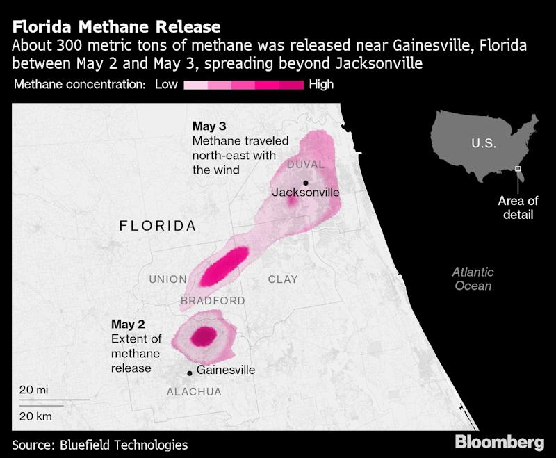 Giant Florida Methane Plume Probed by EPA as Possible Violation