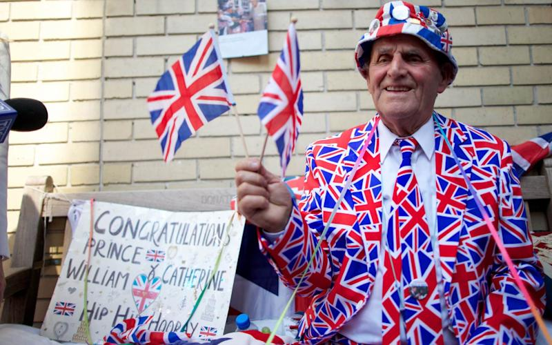 Terry Hutt says he will only travel to Windsor after the announcement has been made - AFP