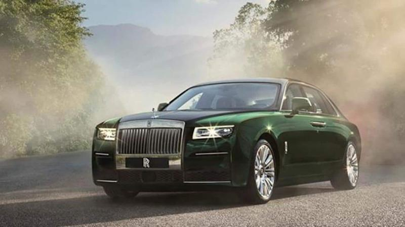 Rolls-Royce Ghost Extended unveiled in India at Rs. 8 crore