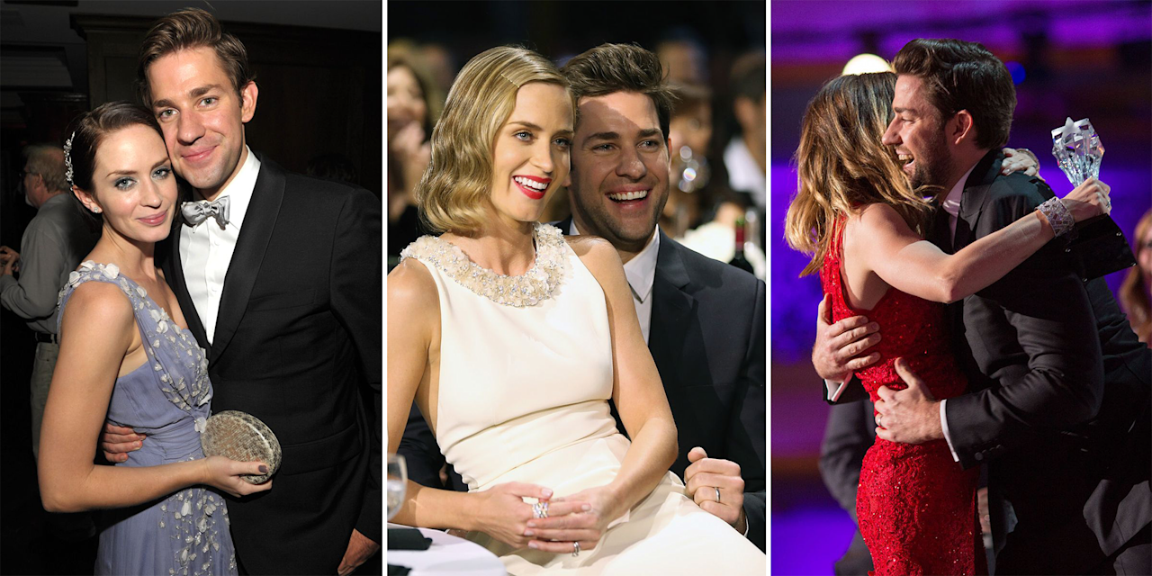<p>From adorable outings to candid moments on the red carpet, Emily Blunt and John Krasinski are couple goals. Here, we take a look at some of the duo's sweetest photos together. Click through and prepare for a heavy dose of relationship envy.</p>