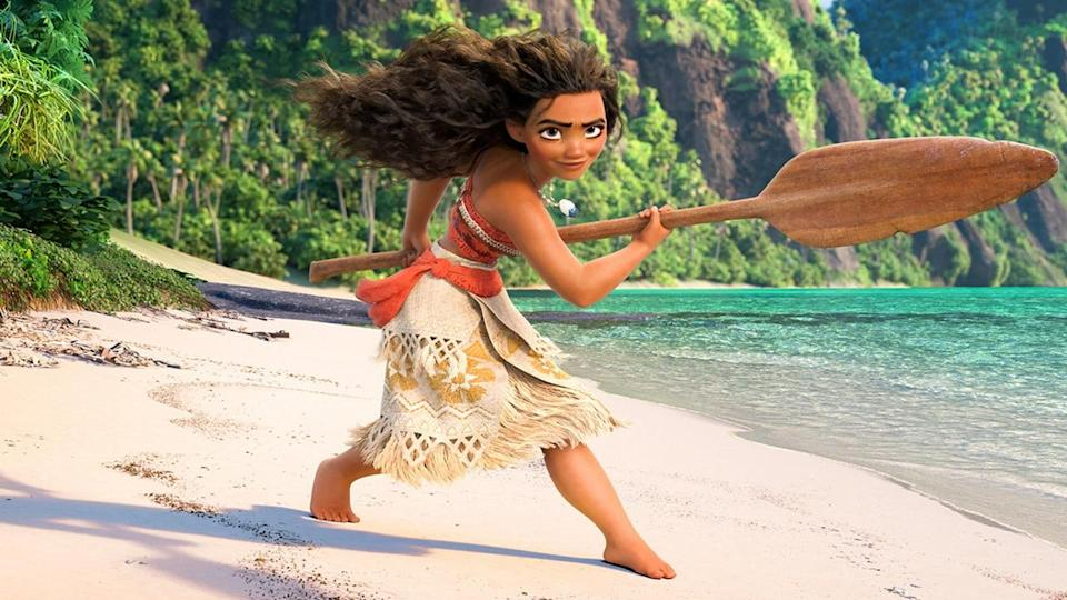 <p> <strong>The movie: </strong>Restless teenage girl Moana has wanted to explore the oceans since she was a toddler, but any journeying out beyond the reef around her island is strictly forbidden by her father, the tribal chief. However, when the islanders' coconut and fish sources run dry at the same time, she sets out on a voyage in secret. Out on the ocean, Moana meets the once-mighty demigod Maui, who reluctantly becomes her mentor, teaching her to become a master wayfinder. On their journey, they fight enormous monsters on a quest that seems almost impossibly hard, but will do more than just fulfil her mission if successful: it could help both of them find themselves too. </p> <p> <strong>Why the family will love it: </strong>Big in scale, gorgeously designed, and filled with great songs written by Lin-Manuel Miranda, Moana is perhaps Disney's finest recent animated hit. The heroine of the story, tribe leader-in-training Moana, has also provided inspiration for young girls and boys the world over, while the setting has ignited interest in the history and culture of Hawai'i and Polynesia. </p>