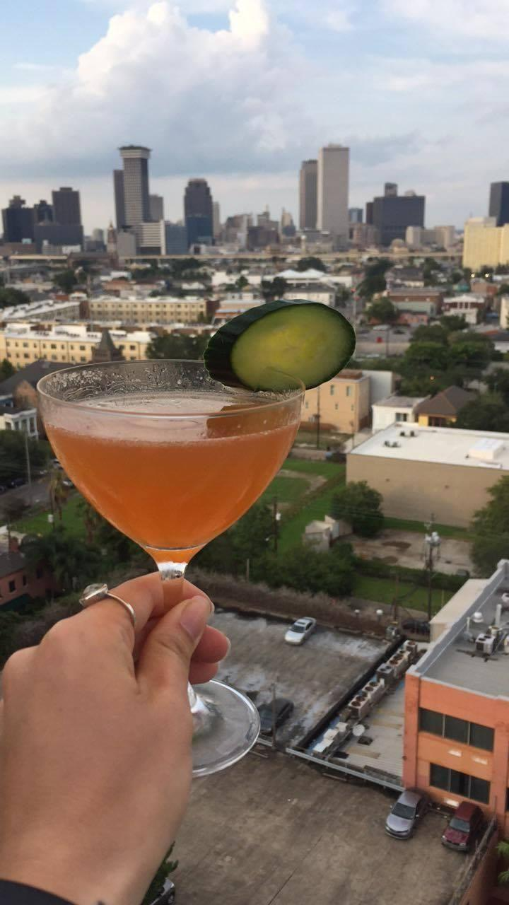 There are heaps of views to enjoy your cocktails, or you can get your drink to go. Source: Supplied