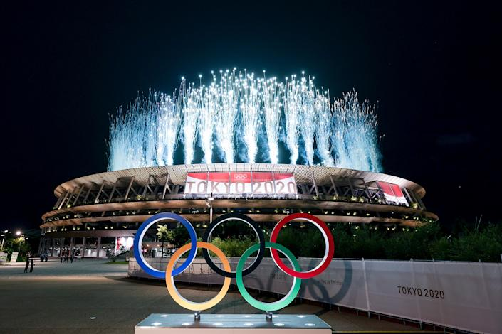 <p>Opening Ceremony of the Tokyo 2020 Olympic Games at Olympic Stadium on July 23, 2021 in Tokyo, Japan.</p>