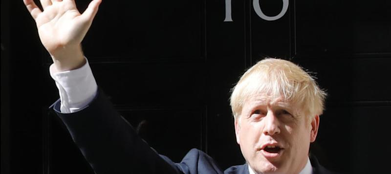 In discorso di insediamento di Boris Johnson a Downing Street