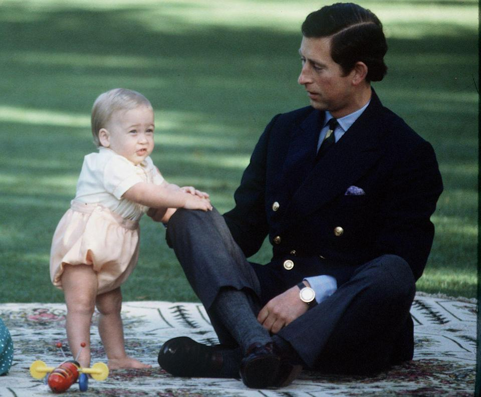 <p>Enjoying playtime with Prince William while in New Zealand.</p>