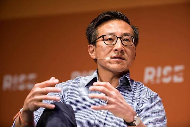 Alibaba co-founder Joseph Tsai will have the option to become majority owner of the Nets in 2021. (Getty Images)