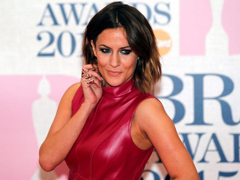 Television presenter Caroline Flack at the Brit awards in 2015: REUTERS