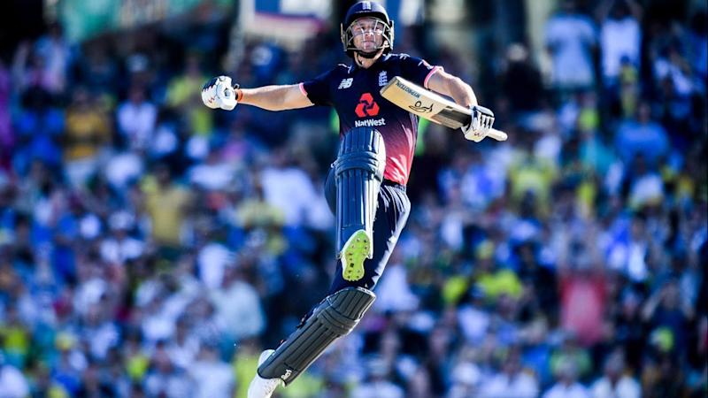 Jos Buttler's fantastic century helped England to victory over Australia at the SCG.