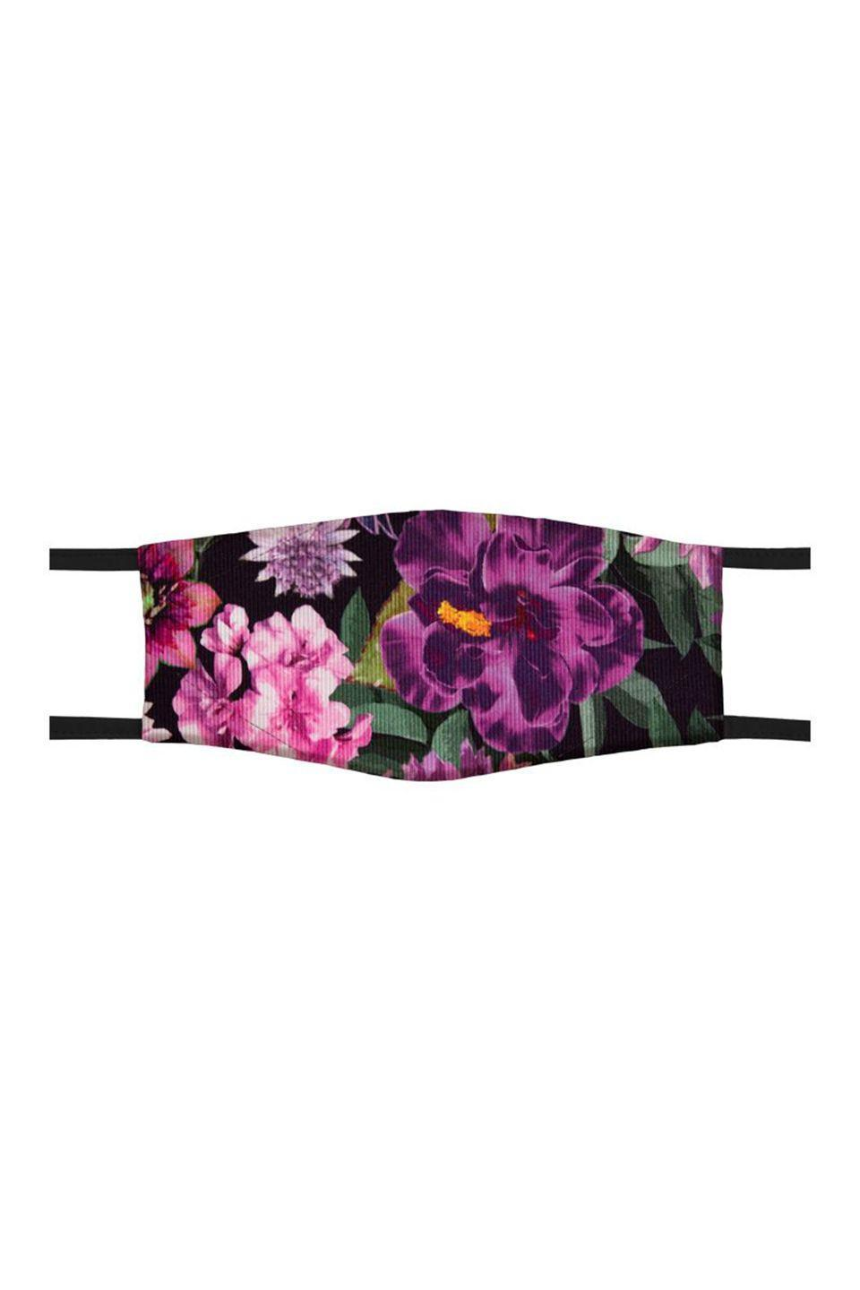 """<p><a class=""""link rapid-noclick-resp"""" href=""""https://www.marc-cain.com/en/Shop/Accessoires/Mouth-and-nose-mask/Mouth-and-nose-mask-1-alpine-rose.html"""" rel=""""nofollow noopener"""" target=""""_blank"""" data-ylk=""""slk:SHOP NOW"""">SHOP NOW</a></p><p>Marc Cain's bright and colourful masks are some of the prettiest available; the brand is also donating €5 to the German Red Cross with every sale. </p><p>£25, <a href=""""https://www.marc-cain.com/en/Shop/Accessoires/Mouth-and-nose-mask/Mouth-and-nose-mask-1-alpine-rose.html"""" rel=""""nofollow noopener"""" target=""""_blank"""" data-ylk=""""slk:Marc Cain"""" class=""""link rapid-noclick-resp"""">Marc Cain </a></p>"""