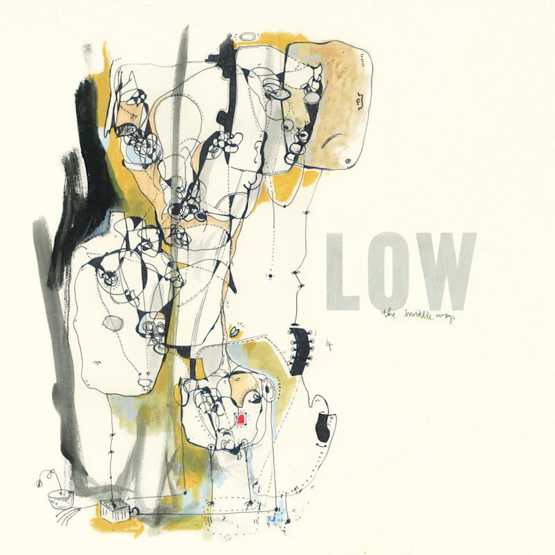 "This CD cover image released by Sub Pop shows ""The Invisible Way,"" by Low. (AP Photo/Sub Pop)"