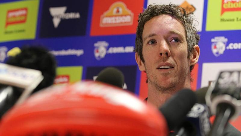 Murphy addresses the media. Pic: Getty