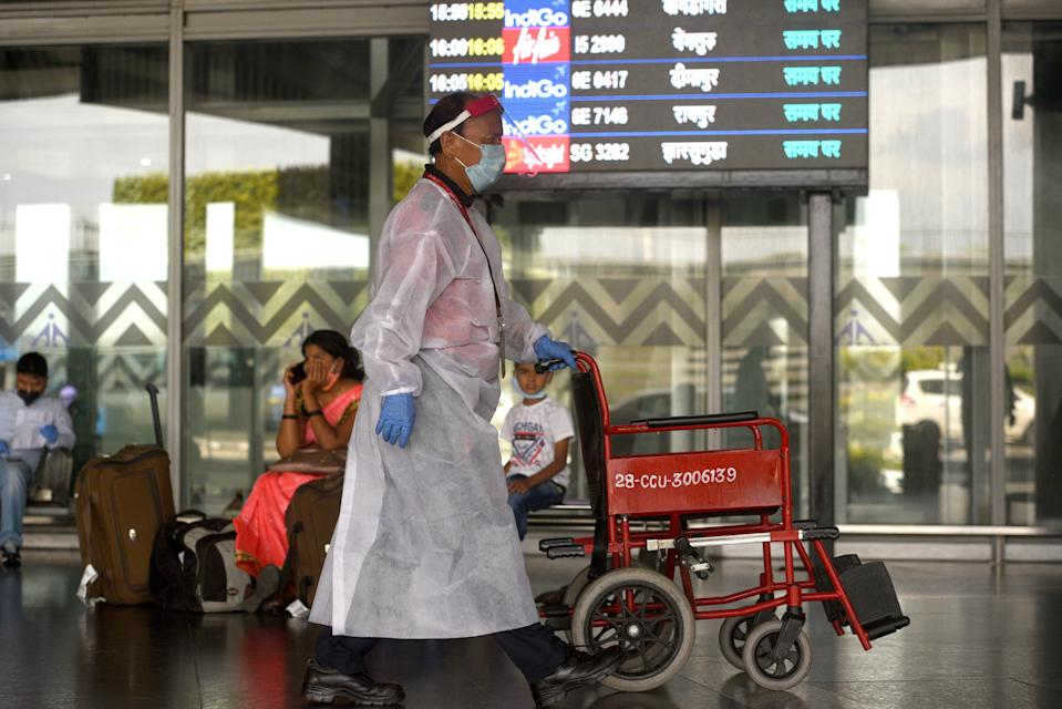 Two more cases reported: a 45-year-old man in Delhi who had travelled back from Italy and a 24-year-old engineer in Hyderabad who had a travel history to Dubai