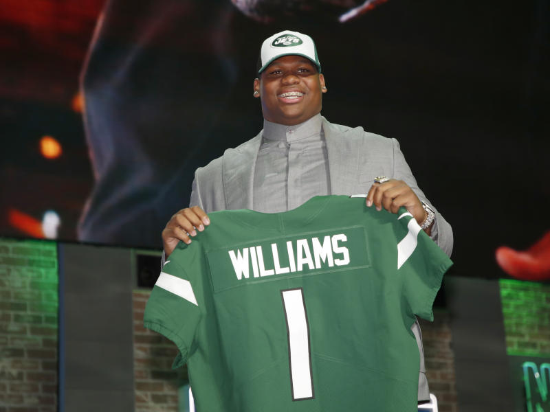 3e7457a5 Jets report for camp without unsigned Quinnen Williams