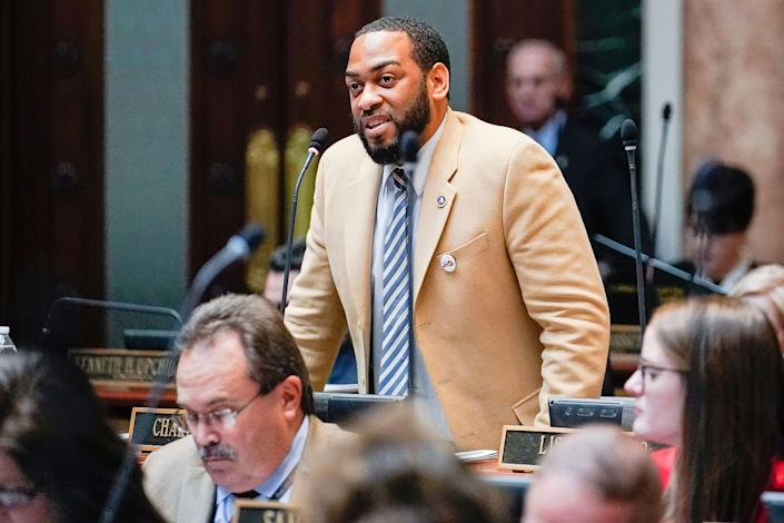 McGrath's missteps allowed state Rep. Charles Booker to make a large charge in the Democratic Senate primary. (Photo: Bryan Woolston/ASSOCIATED PRESS)