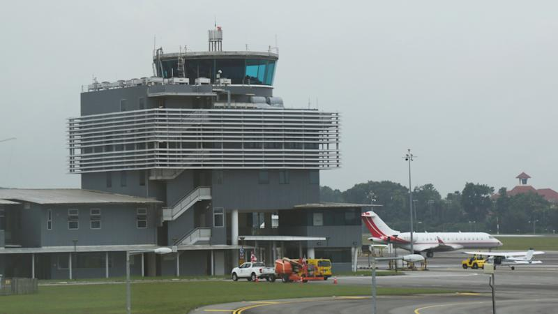 Seletar Airport's control tower. (PHOTO: Yahoo News Singapore / Dhany Osman)