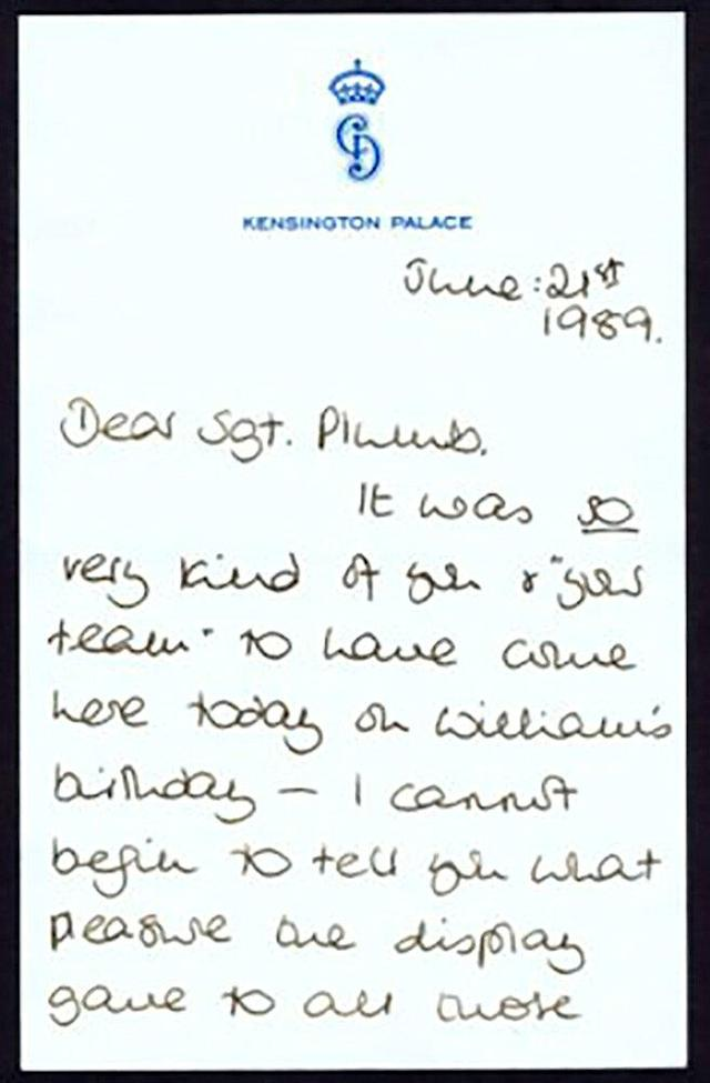Princess Diana's Unearthed Letter from 1989 Shows Her in Ultimate ...