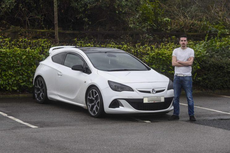 He says he parks across two bays to protect his car (Mercury Press)