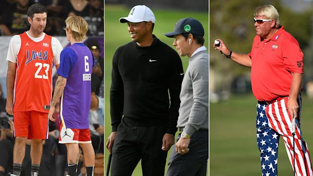 Bubba Watson gets exposed on the court, Mark Wahlberg tunes out Tiger Woods and John Daly's newest drinking partner is ... John Daly.