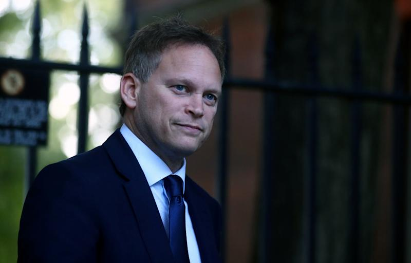 Britain's Transport Secretary Grant Shapps is seen outside Downing Street in London, Britain, October 18, 2019. REUTERS/Hannah McKay