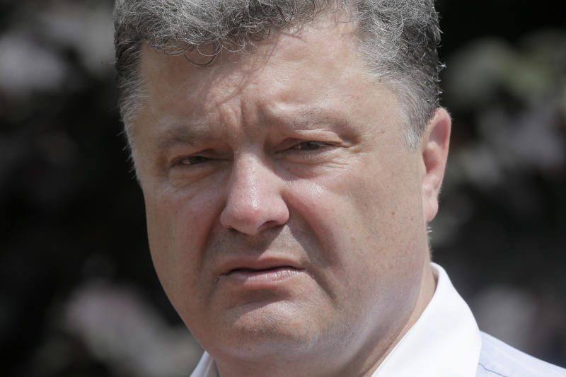 Chocolate king tipped as Ukraine's next president