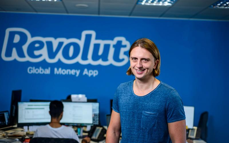 Revolut's chief executive is Nikolay Storonsky - Revolut