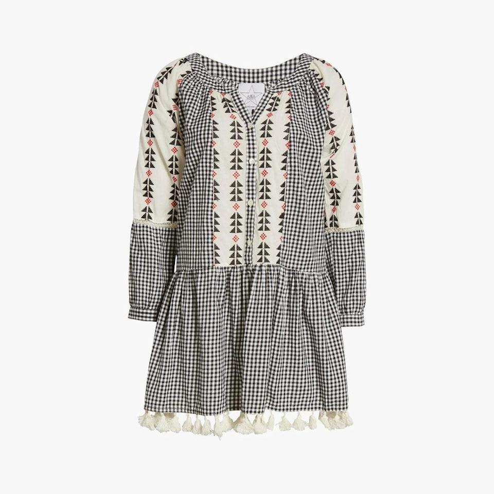 "$125, NORDSTROM. <a href=""https://www.nordstrom.com/s/area-stars-sorrento-gingham-long-sleeve-dress/5782240"" rel=""nofollow noopener"" target=""_blank"" data-ylk=""slk:Get it now!"" class=""link rapid-noclick-resp"">Get it now!</a>"