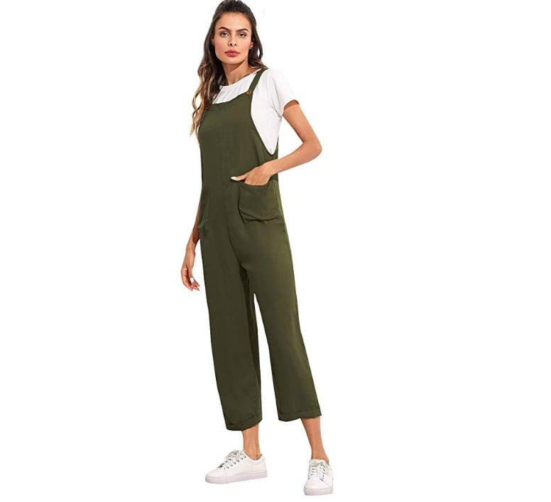 """<p>Go for a cool and casual look in this <a href=""""https://www.popsugar.com/buy/Verdusa-Sleeveless-Pockets-Jumpsuit-506082?p_name=Verdusa%20Sleeveless%20Pockets%20Jumpsuit&retailer=amazon.com&pid=506082&price=17&evar1=fab%3Aus&evar9=44868101&evar98=https%3A%2F%2Fwww.popsugar.com%2Fphoto-gallery%2F44868101%2Fimage%2F46801182%2FVerdusa-Sleeveless-Pockets-Jumpsuit&list1=shopping%2Cfall%20fashion%2Camazon%2Cfall%2Cspring%2Csummer%2Cjumpsuits%2Camazon%20prime%2Cspring%20fashion%2Csummer%20fashion%2Caffordable%20shopping&prop13=api&pdata=1"""" rel=""""nofollow"""" data-shoppable-link=""""1"""" target=""""_blank"""" class=""""ga-track"""" data-ga-category=""""Related"""" data-ga-label=""""https://www.amazon.com/Verdusa-Sleeveless-Pockets-Jumpsuit-Overalls/dp/B07FD417SS/ref=sr_1_32?crid=5TGKT8PV5KIW&amp;dchild=1&amp;keywords=cute+jumpsuits+for+women&amp;qid=1571870248&amp;sprefix=cute+jumpsuits+for%2Caps%2C201&amp;sr=8-32"""" data-ga-action=""""In-Line Links"""">Verdusa Sleeveless Pockets Jumpsuit</a> ($17-$29).</p>"""