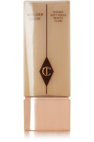 """<p>""""This <span>Charlotte Tilbury Wonderglow Face Primer</span> ($55) gives a really subtle warmth and glow to the skin without making you looking like you have a face full of sparkle or like you've just applied a ton of bronzer. I'm personally sensitive to the feel of makeup on my skin, but this is weightless and very comfortable. I particularly like it on dull or sallow skin that needs an extra boost of radiance."""" - <span>Jenny Patinkin</span>, celebrity makeup artist</p>"""