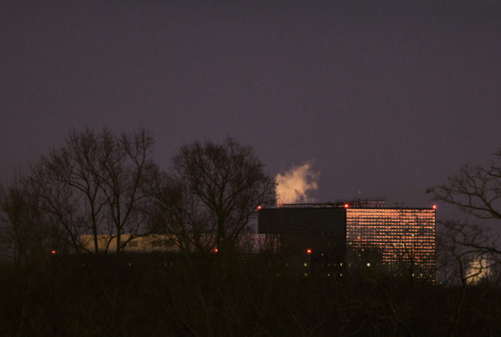 The National Security Agency headquarters in Fort Meade, Md., Dec. 17, 2020. (T.J. Kirkpatrick/The New York Times)