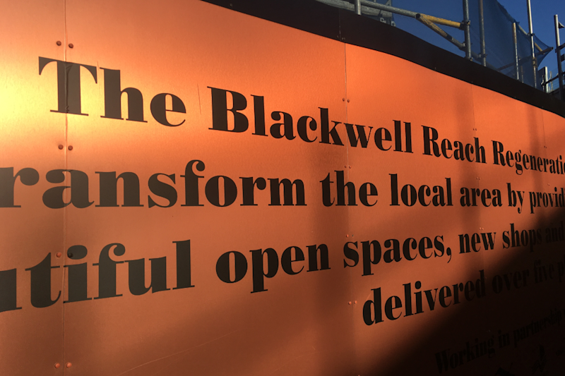 Blackwall Reach development in Wapping is replacing the Robin Hood Gardens estate