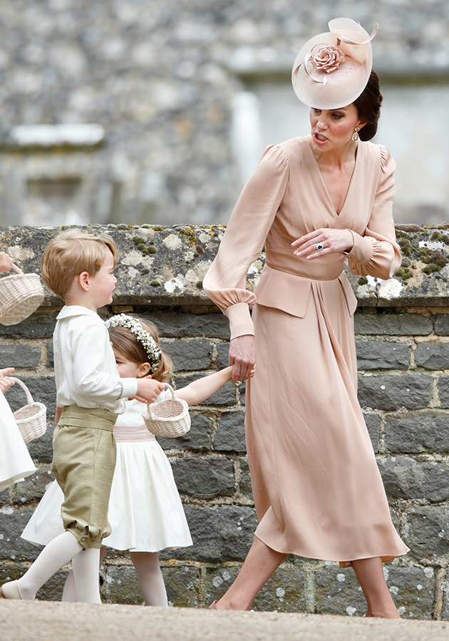 Kate Middleton and Prince William are reportedly at their wits end with the little tyke. Photo: Getty