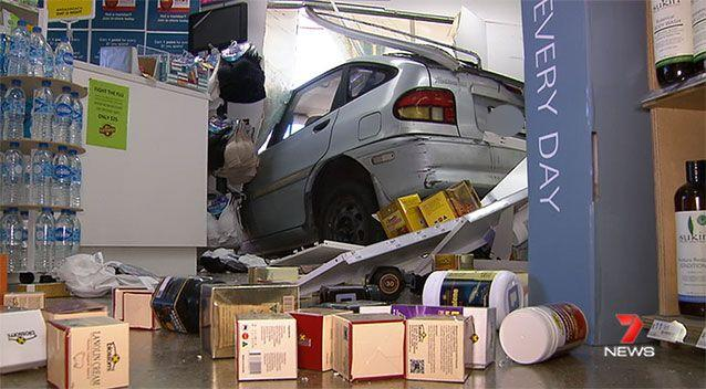 Fortunately no one was injured. Source: 7News