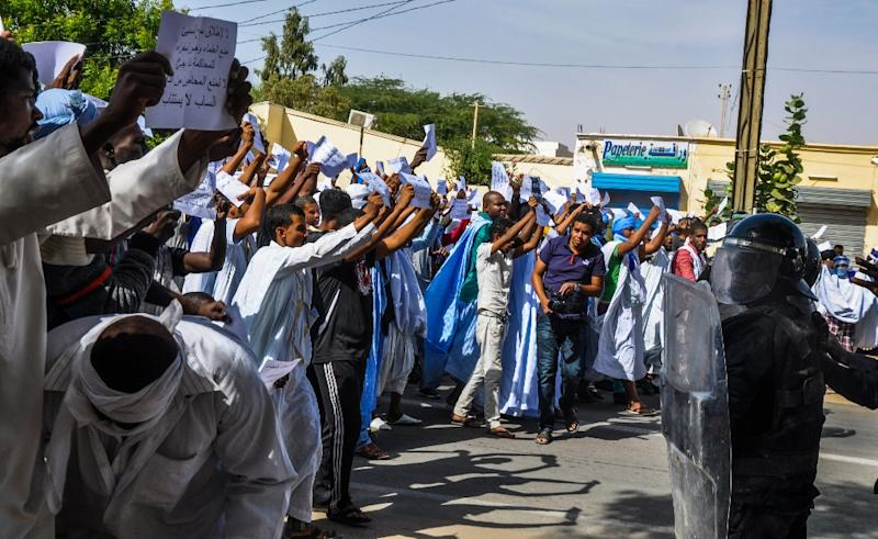 The Mkheitir case sparked angry demonstrations in Mauritania, a conservative Muslim nation