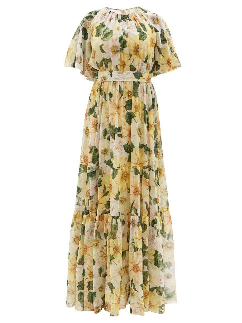 """<p><strong>Dolce & Gabbana</strong></p><p>matchesfashion.com</p><p><strong>$5070.00</strong></p><p><a href=""""https://go.redirectingat.com?id=74968X1596630&url=https%3A%2F%2Fwww.matchesfashion.com%2Fus%2Fproducts%2F1415656&sref=https%3A%2F%2Fwww.harpersbazaar.com%2Fwedding%2Fbridal-fashion%2Fg36750122%2Fbest-mother-of-the-groom-dresses%2F"""" rel=""""nofollow noopener"""" target=""""_blank"""" data-ylk=""""slk:SHOP NOW"""" class=""""link rapid-noclick-resp"""">SHOP NOW</a></p><p>For wedding dressing in spring or summer, style your bridal party—and most importantly, your mother to the theme. Floral prints and soft colors play well with decor that's sure to embrace the blooms of the warm-weather months. </p>"""